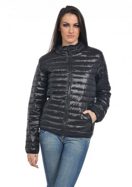 Jacheta Quilted Black