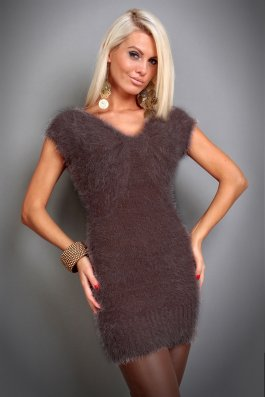 Rochie SoftTouch Brown