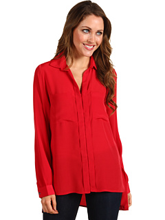 Camasa Kenneth Cole Jordonna Wide-Sleeve Shirt Ruby