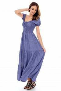 Rochie denim, ROH, country style